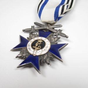 Bayern: Militärverdienstorden, Kreuz der 4 Klasse mit Schwertern mit Expertise.-7028