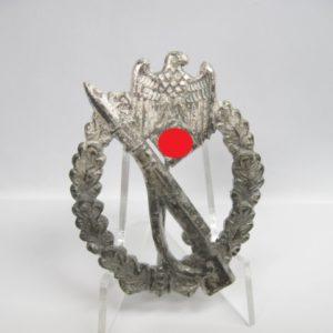 """Infanteriesturmabzeichen in Silber """"GWL""""-0"""