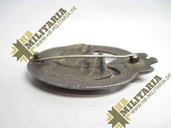 Panzerkampfabzeichen in Silber-7454