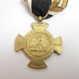 Preußen: Erinnerungskreuz den Treuen Kriegern 1866-7565