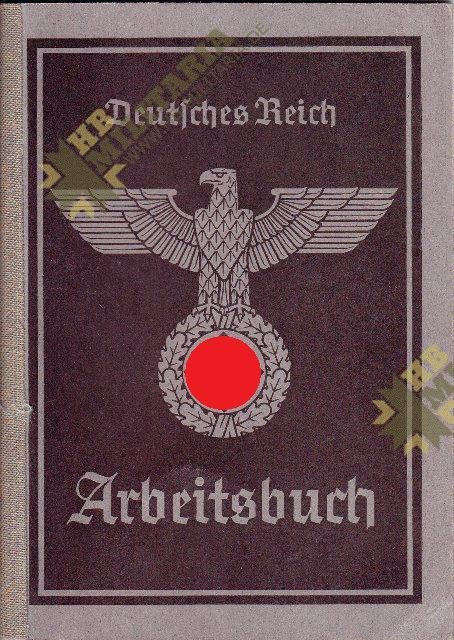 Arbeitsbuch aus dem Raum Eger/ Tirschnitz. Sudetengau. Pracovní sešit z místnosti Eger / Tirschnitz. Sudetengau.-0