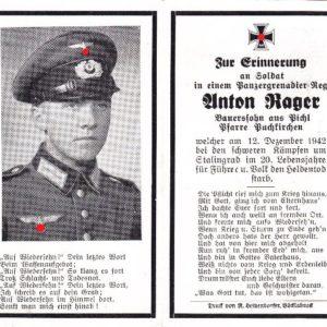 Sterbebild Panzergrenadier Stalingrad-0