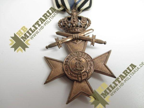 Bayern: Militärverdienstkreuz 3. Klasse mit Schwerter und Krone-7791