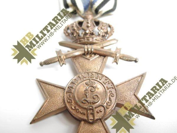Bayern: Militärverdienstkreuz 3. Klasse mit Schwerter und Krone-7793