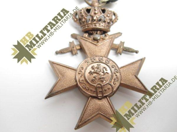 Bayern: Militärverdienstkreuz 3. Klasse mit Schwerter und Krone-7794