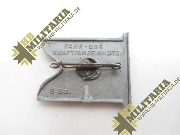 WHW Fahne Fahr- und Kraftfahreinheiten-7953
