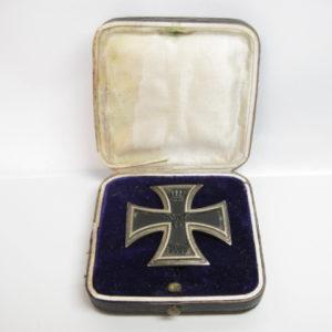 Eisernes Kreuz 1. Klasse von 1914 im Etui.-0