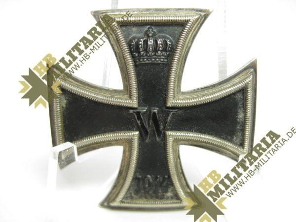 Eisernes Kreuz 1. Klasse von 1914 im Etui.-8404