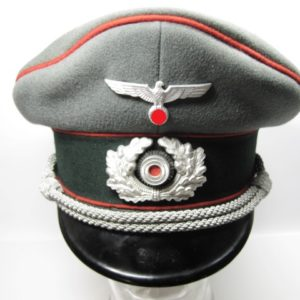 Schirmmütze Wehrmacht für Offiziere der Artillerie-0