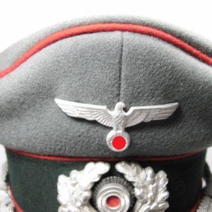 Schirmmütze Wehrmacht für Offiziere der Artillerie-8422