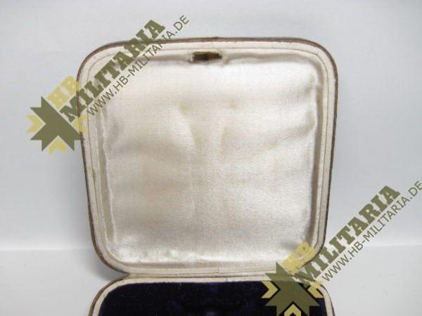 Eisernes Kreuz 1. Klasse. EK1 1914 Hersteller SW im Etui-8559