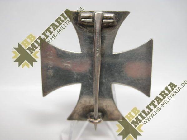Eisernes Kreuz 1. Klasse. EK1 1914 Hersteller SW im Etui-8562