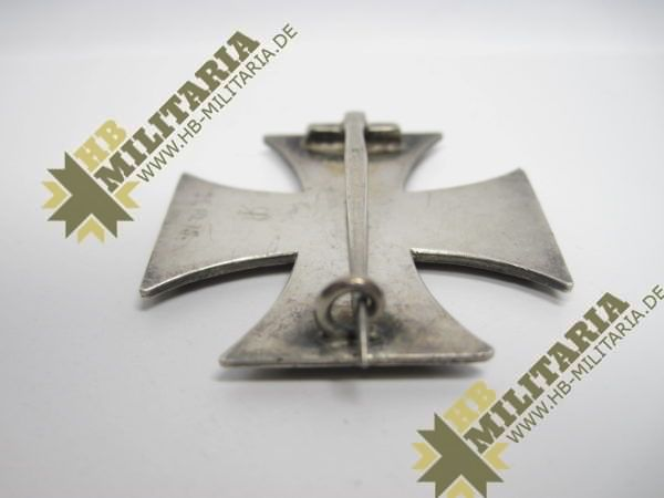 Eisernes Kreuz 1. Klasse. EK1 1914 Hersteller SW im Etui-8565
