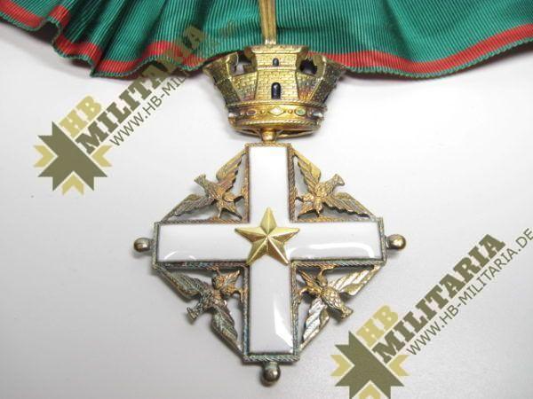 Italien: Verdienstorden der Republik. Kommonadeurkreuz.-8917