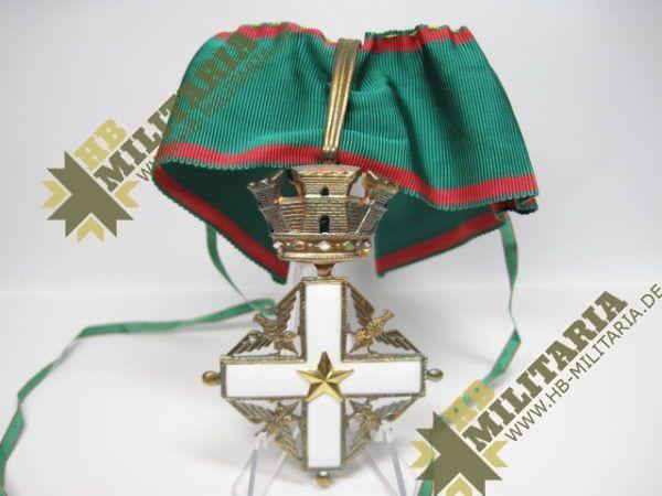 Italien: Verdienstorden der Republik. Kommonadeurkreuz.-8933