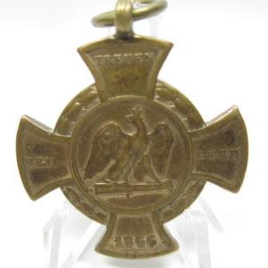 Preussen: Erinnerungskreuz 1866 den treuen Kriegern-9135
