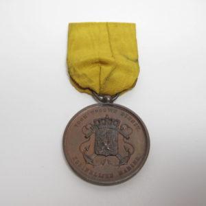 Niederlande: Militärverdienstmedaille für 12 Jahre Marine in bronze am Band-0