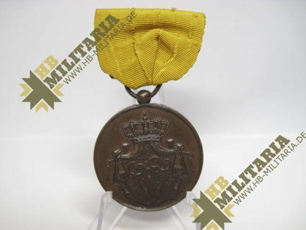 Niederlande: Militärverdienstmedaille für 12 Jahre Marine in bronze am Band-9428