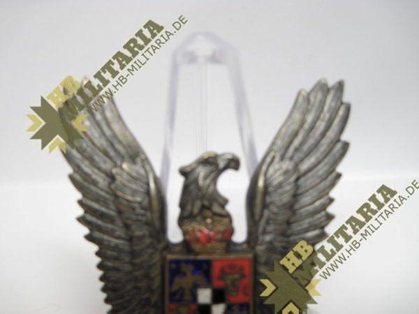 Königreich Rumänien Flugzeugführerabzeichen aus WK II-9533
