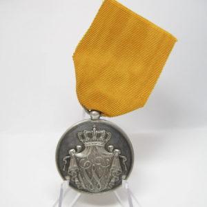 Niederlande: Militärverdienstmedaille für 24 Jahre im Heer, in Silber am Band-0