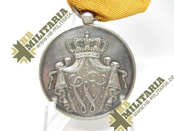 Niederlande: Militärverdienstmedaille für 24 Jahre im Heer, in Silber am Band-9570