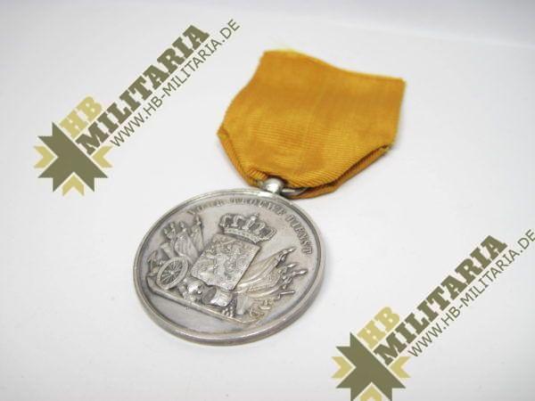 Niederlande: Militärverdienstmedaille für 24 Jahre im Heer, in Silber am Band-9575