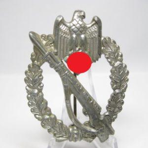 Infanteriesturmabzeichen silber S.H. u. Co. 41-9585