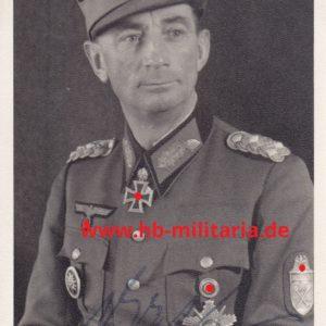 Eduard Dietl. Generaloberst. Original- Unterschrift.-0