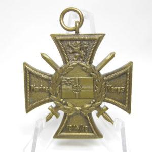Marinekorps Flandern. Erinnerungs- Kreuz: Zur See unbesiegt. Marine Korps. 1914/18-0