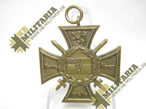 Marinekorps Flandern. Erinnerungs- Kreuz: Zur See unbesiegt. Marine Korps. 1914/18-9807