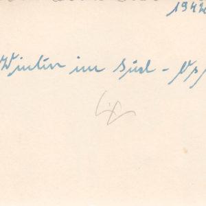 Foto JU52 mit mailing dreiblättriges Kleeblatt-10125
