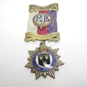 Logenabzeichen Großbritannien. Royal George 1926-0
