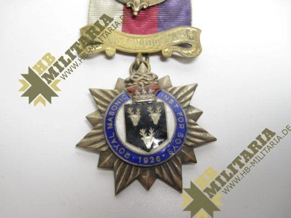 Logenabzeichen Großbritannien. Royal George 1926-10399