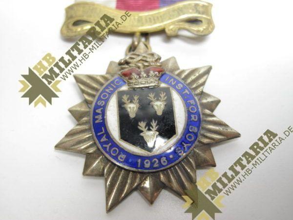 Logenabzeichen Großbritannien. Royal George 1926-10403