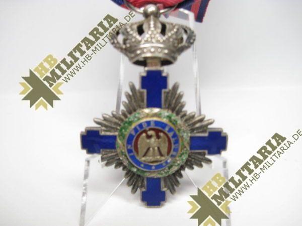 Rumänien: Orden vom Stern Rumäniens 1. Modell 1877-1932, Ritterkreuz-10440