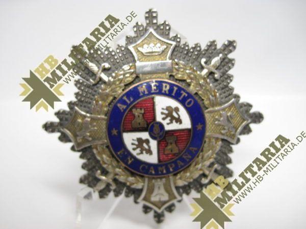 Spanien- Kriegsstern: AL MERITO EN CAMPANA-10478