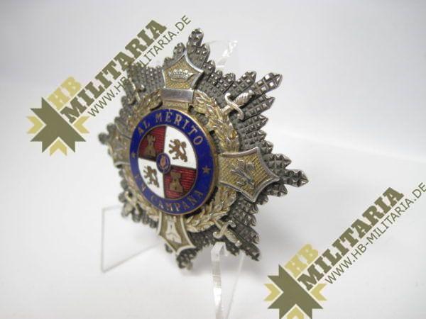 Spanien- Kriegsstern: AL MERITO EN CAMPANA-10479