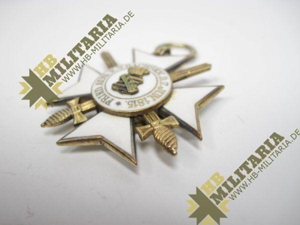 Sachsen: Zivilverdienstorden 2. Modell 1891 - 1918. Ritterkreuz 2. Klasse mit Schwertern.-10586