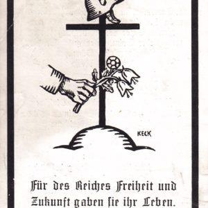 Sterbebild Elite XX Rottenführer-10829
