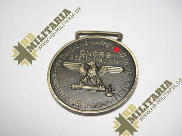 Medaille 29. Waffen-Grenadier-Division der XX (italienische Nr. 1)-10884