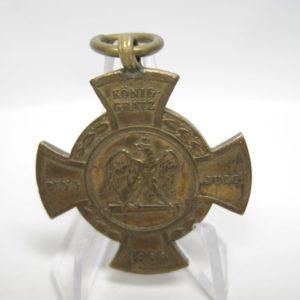 Erinnerungskreuz Preußen Königgrätz 1866-0