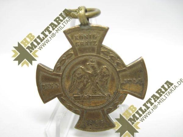 Erinnerungskreuz Preußen Königgrätz 1866-10997
