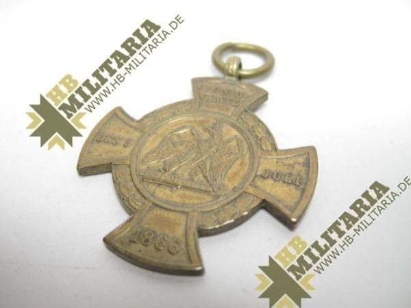 Erinnerungskreuz Preußen Königgrätz 1866-11000