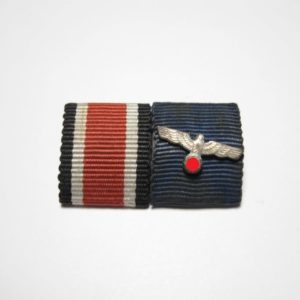 Feldspange Eisernes Kreuz 2. Klasse u. Wehrmacht Dienstauszeichnung-0