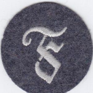 Luftwaffe Tätigkeitsabzeichen- Ärmelabzeichen Feuerwerker-0