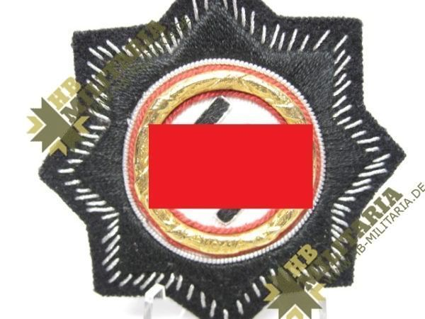 Deutsches Kreuz in Gold, Stoffausführung-11144