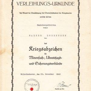 Dokumentennachlass eines Funk Obergefreiten-11331