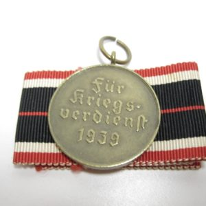 KVK Medaille 1939 am originalen langen Band-11756