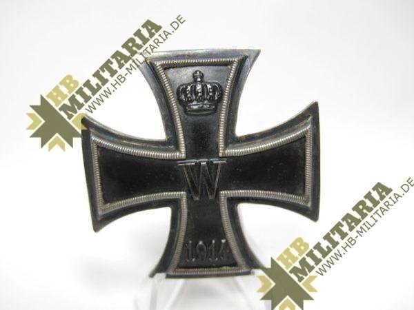 Eisernes Kreuz 1. Klasse von 1914. 800er Silberpunze.-0