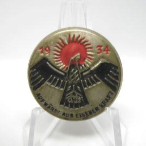 Abzeichen: 1934 Aufwärts aus eigener Kraft.-0